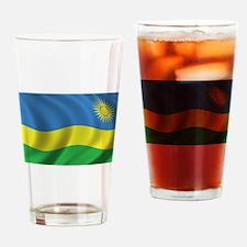 Flag of Rwanda Drinking Glass