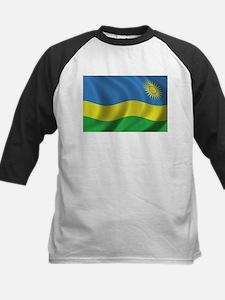 Flag of Rwanda Kids Baseball Jersey