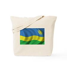 Flag of Rwanda Tote Bag