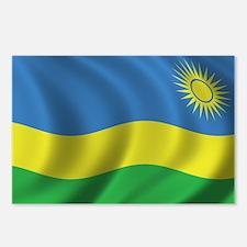 Flag of Rwanda Postcards (Package of 8)