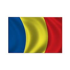 Flag of Romania Rectangle Magnet
