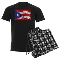 Flag of Puerto Rico Pajamas