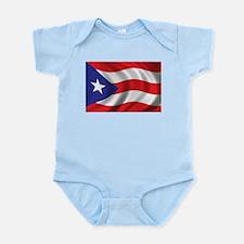 Flag of Puerto Rico Infant Bodysuit