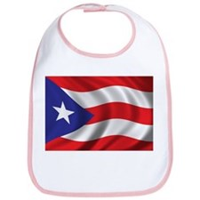 Flag of Puerto Rico Bib