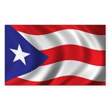 Flag of Puerto Rico Stickers