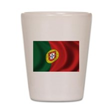 Flag of Portugal Shot Glass