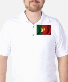 Flag of Portugal Golf Shirt