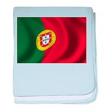 Flag of Portugal baby blanket
