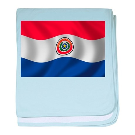 Flag of Paraguay baby blanket