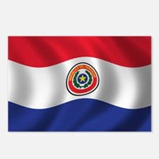 Flag of Paraguay Postcards (Package of 8)