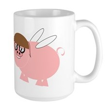 Flying Pig Design Mug