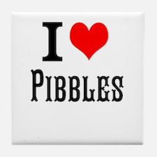 Funny Pibbles Tile Coaster