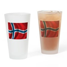 Cute Norway Drinking Glass