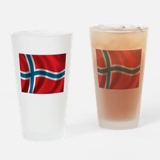 Unique Norway Drinking Glass