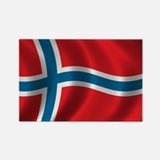 Funny Norway Rectangle Magnet