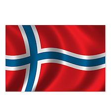 Cute Norwegian Postcards (Package of 8)