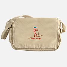 Cute Hike Messenger Bag