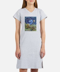 Home Is Where The Heart Is Women's Nightshirt