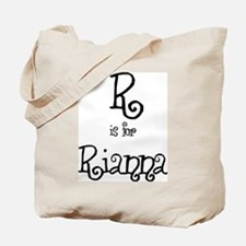 R Is For Rianna Tote Bag