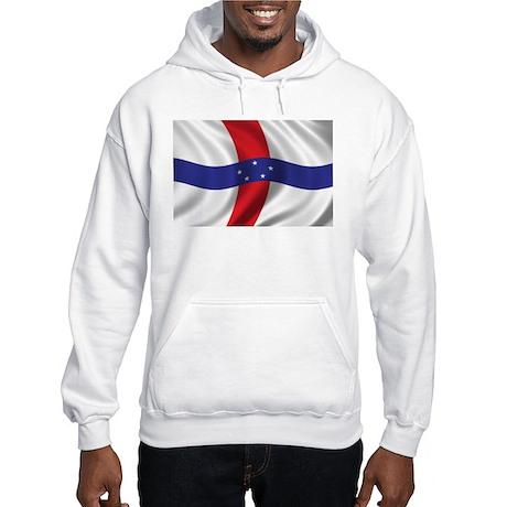 Flag of the Netherlands Antilles Hooded Sweatshirt