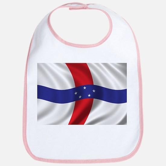 Flag of the Netherlands Antilles Bib