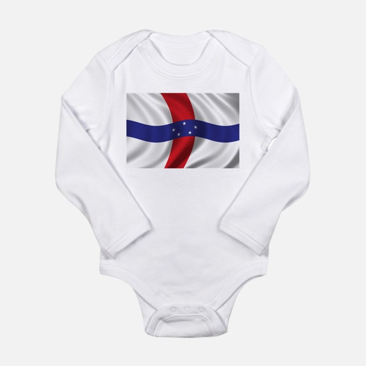 Flag of the Netherlands Antilles Long Sleeve Infan