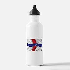 Flag of the Netherlands Antilles Water Bottle