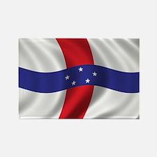 Flag of the Netherlands Antilles Rectangle Magnet
