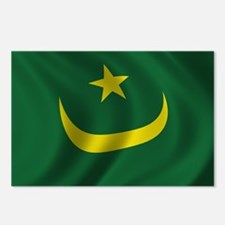 Flag of Mauritania Postcards (Package of 8)