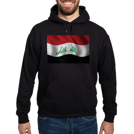 Flag of Iraq Hoodie (dark)