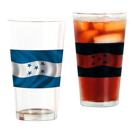 Flag of Honduras Drinking Glass
