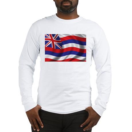 Flag of Hawaii Long Sleeve T-Shirt