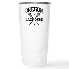 Oregon Lacrosse Travel Mug