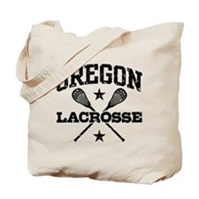 Oregon Lacrosse Tote Bag