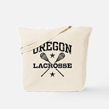 Oregon Lacrosse Tote Bag