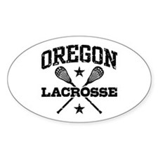 Oregon Lacrosse Decal