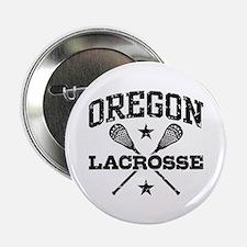 """Oregon Lacrosse 2.25"""" Button"""