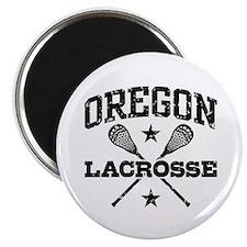 Oregon Lacrosse Magnet
