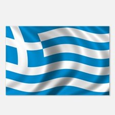 Flag of Greece Postcards (Package of 8)