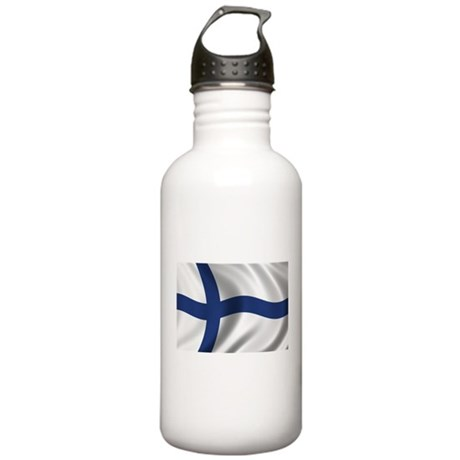 Flag of Finland Stainless Water Bottle 1.0L