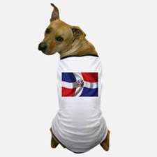 Flag of the Dominican Republic Dog T-Shirt