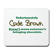 Code Brown Mousepad