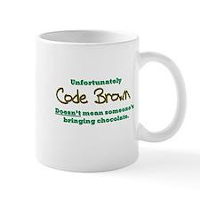 Code Brown Small Mug