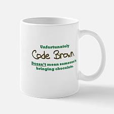 Code Brown Small Small Mug
