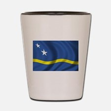 Flag of Curacao Shot Glass