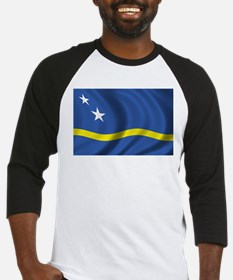 Flag of Curacao Baseball Jersey