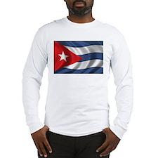 Flag of Cuba Long Sleeve T-Shirt
