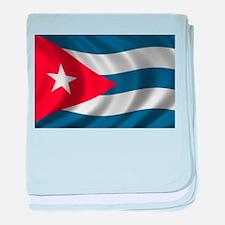 Flag of Cuba baby blanket