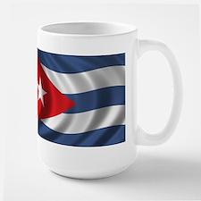 Flag of Cuba Large Mug