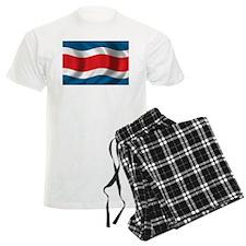 Flag of Costa Rica Pajamas